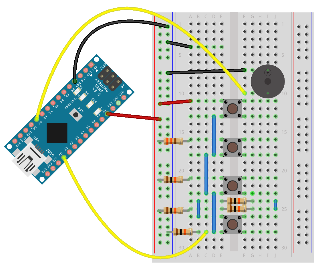 Basic Arduino Circuits Advanced Led Blink Circuit Building The